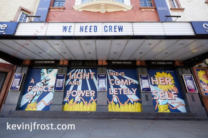 We Need Crew campaign at the O2 Shepherd's Bush.