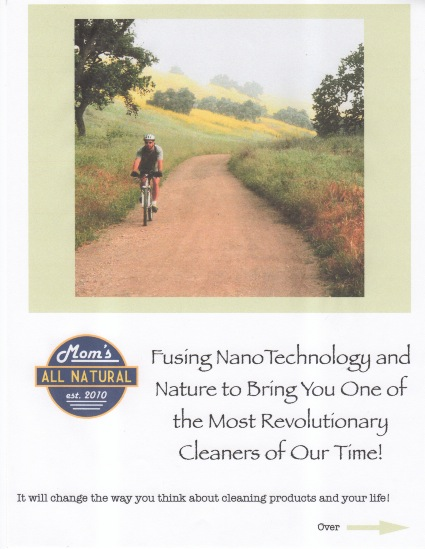 Flyer Copy for a New Natural Cleaner