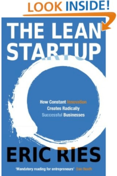 Pic of book: The Lean Startup