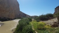 Looking out from Boquillas Canyon.