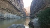 Tranquility inside Santa Elena Canyon.