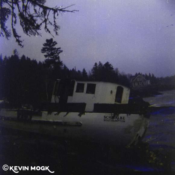 Shipwreck on the Southshore of Nova Scotia Image 02