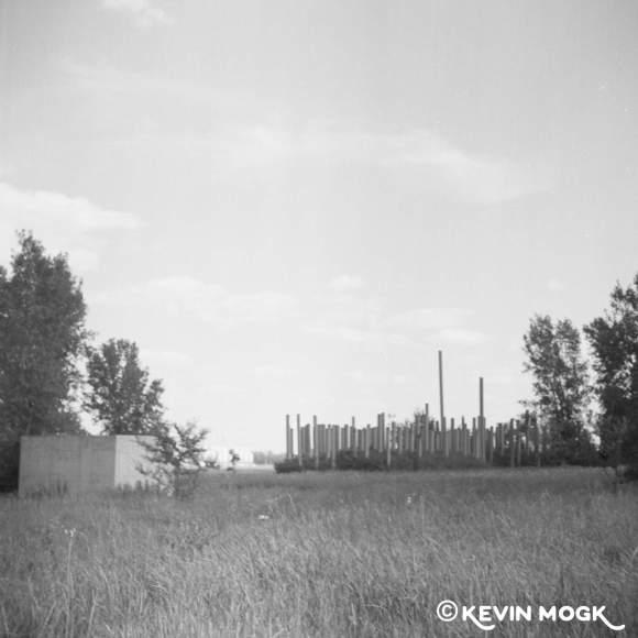 Pile Henge Outside Winnipeg Manitoba Image 11