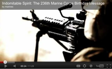 236th Marine Corps Birthday