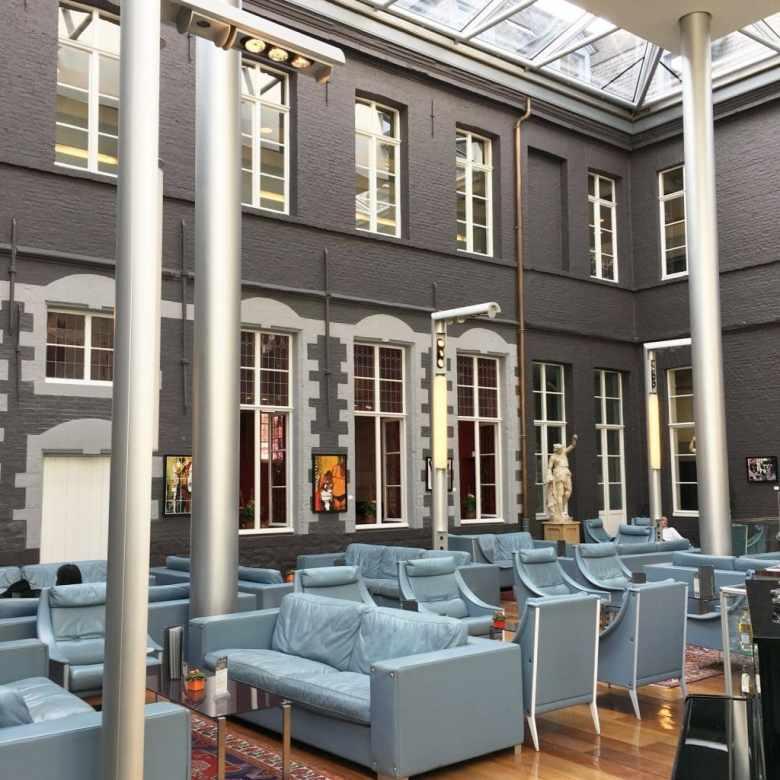 Bar de l'hotel l'hermitage gantois Lille