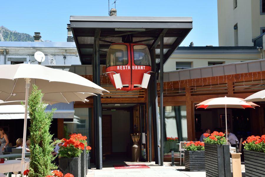 Restaurant la télécabine Chamonix