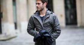 Kway rain coat