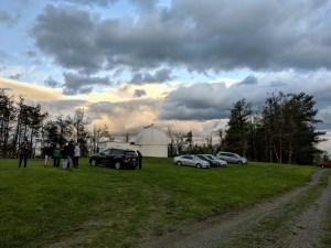 Fan Mountain Comples: 31 in Tinsley Reflector Telescope