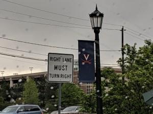 Arrival in Charlottesville, VA
