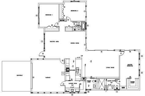 316 NE 24th Street Wilton Manors Floor Plan