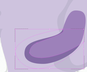 """A shape with """"Draw Inside"""" selected"""