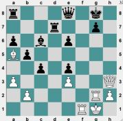In the game White played the attractive 30.Bb4, wanting to win the Queen with Rf8+ (which he succeed in doing, but the game is unclear). Instead, how can White get a large, if not winning, advantage?