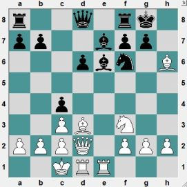 The last moves were 12...h6(?) 13.Bxh6! c4! Black is playing provocatively (Lasker style), hoping to outcalculate his opponent in the complications. (14.Qg5?! Ne8!). How does White get a clear advantage?