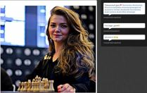 Another chess Beauty The adorable Mrs. Polina http://vk.com/id26133554