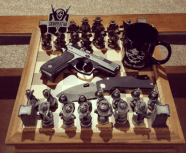The Anti-Terrorist Chess Set!. Bad-Ass coffee mug included. Need more convincing?? Well.....FUCK YOU!