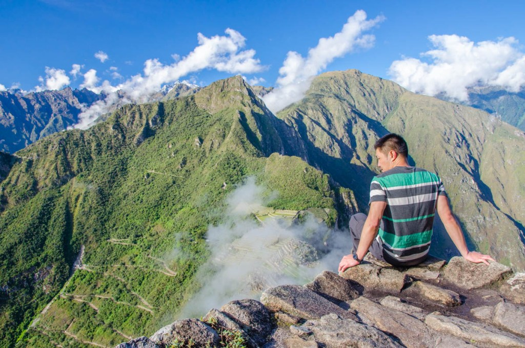 Machu Picchu from Huany Picchu