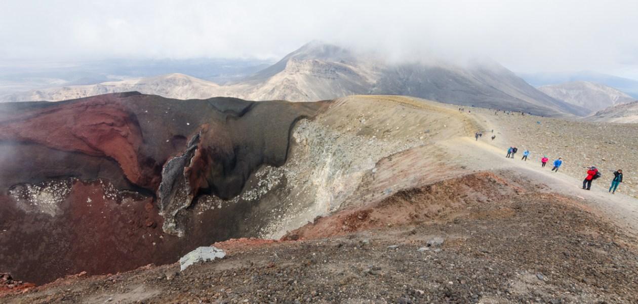 Red Crater, Tongariro Alpine Crossing