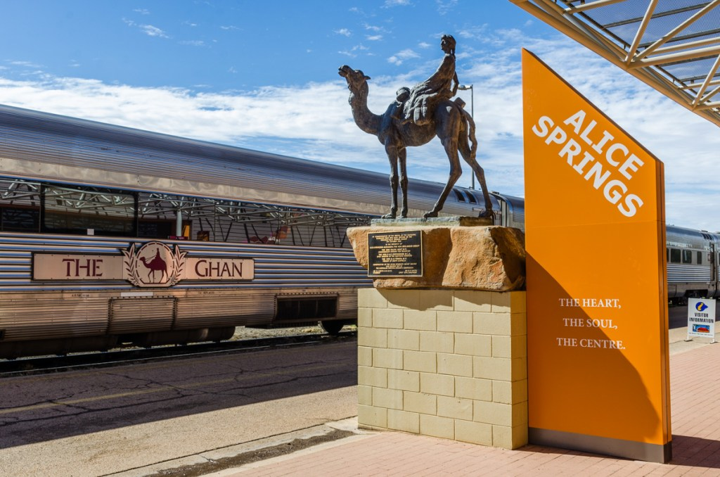 The Ghan, Alice Springs Train Station