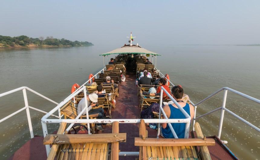 Boat from Mandalay to Bagan