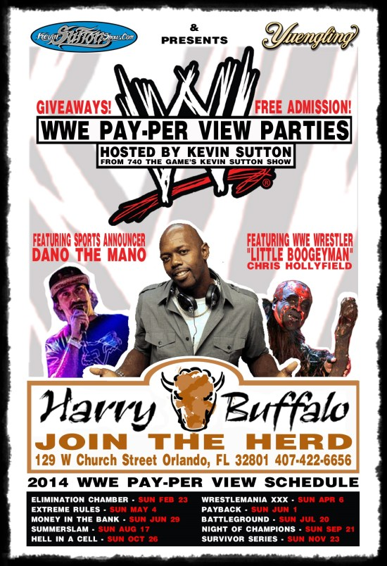 Kevin Sutton Show - Harry Buffalo WWE PPV Parties
