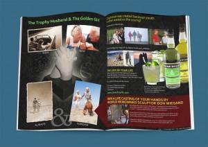Chartreuse Magazine Ad