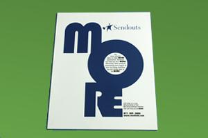 Sendouts Recruiting Software MORE Magazine AD