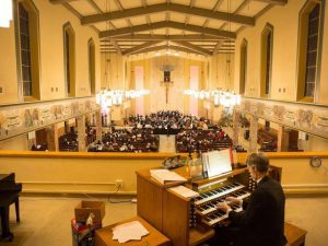 Kevin has been principle organist at St. Boniface since 2010.