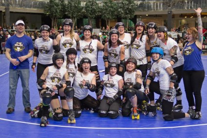 PBDC's Sugar Skulls finished 2nd at the 2012 RDAC Nationals in Edmonton earlier this year.