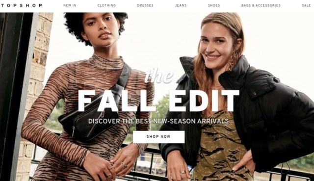Top Shop - women's clothing online