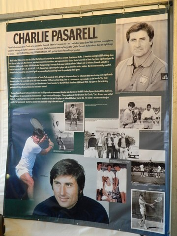 Charlie Pasarell Celebration