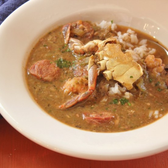 Photo - Shrimp, Crab And Okra Gumbo - Emeril's