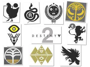 Destiny 2 Embroidery Designs