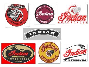 Indian Motorcycle Embroidery Designs Set 2