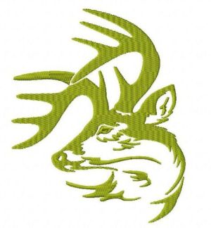 Legendary Whitetails Deer Buck Embroidery Design