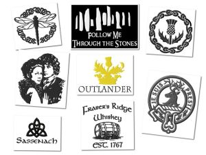 Outlander Embroidery Designs
