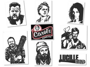 Walking Dead Embroidery Designs Set 2
