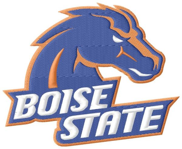 Boise State Embroidery Designs