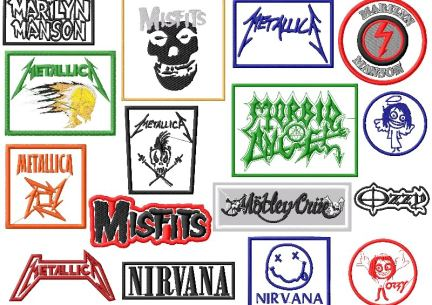 rockband logo embroidery designs p3