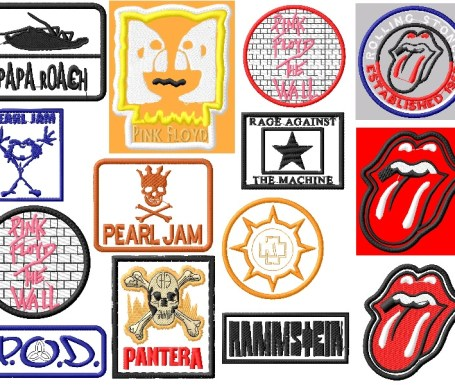 rockband logo embroidery designs p4