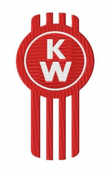 kenworth embroidery design