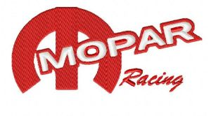 Mopar Racing Embroidery Design
