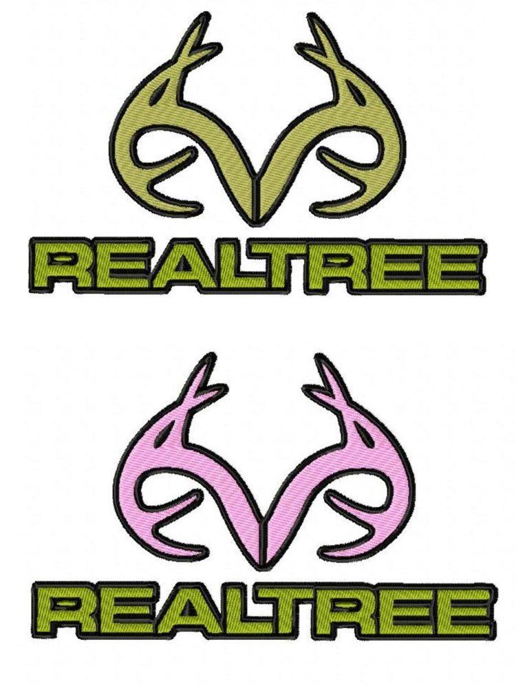 Realtree Embroidery Design Logo