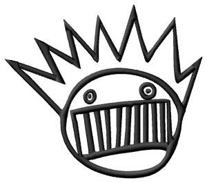 Ween Boognish Embroidery Design