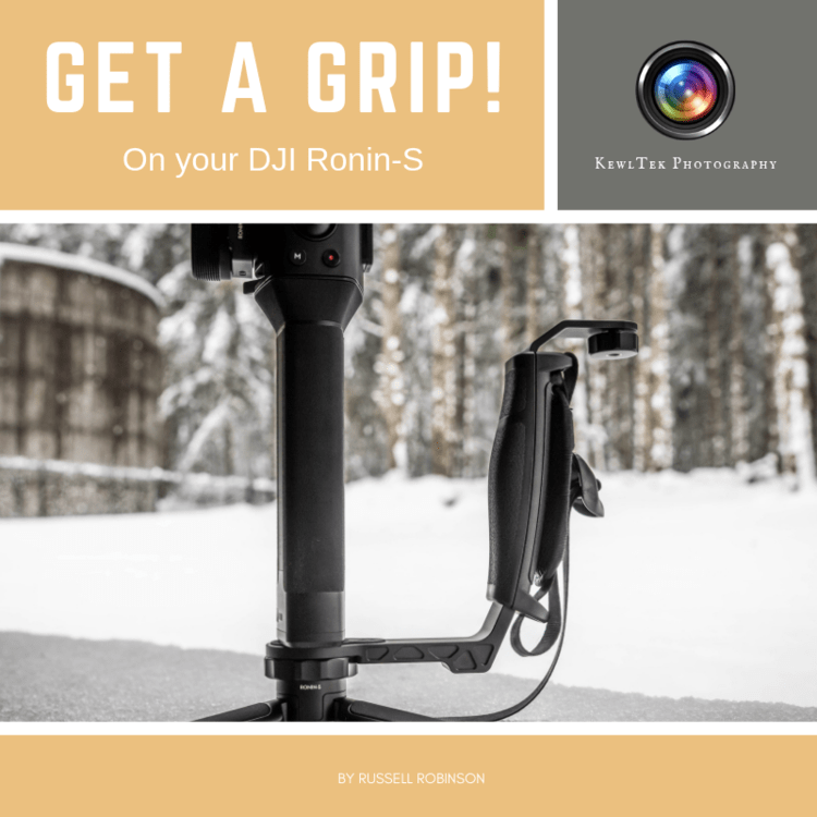 Get a Grip on your DJI Ronin-S