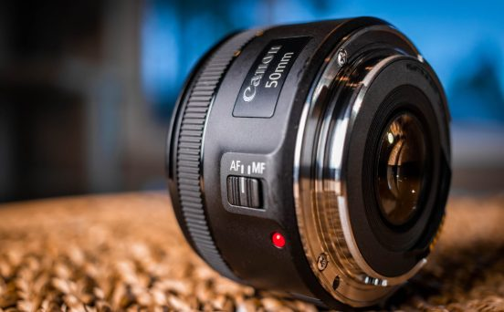 """Canon's lowest priced lens doesn't """"cheap out""""--just look at that shiny, durable, metal lens mount!"""