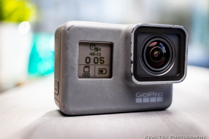 Time-lapse with a GoPro--output on front LCD