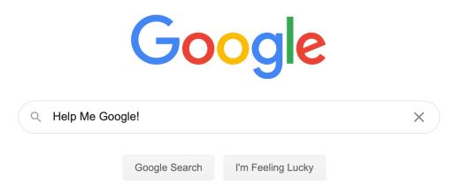 Help me Google!