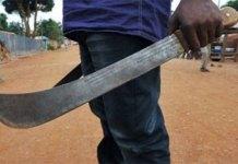 Kaolack : un homme coupe la main d'une jeune fille