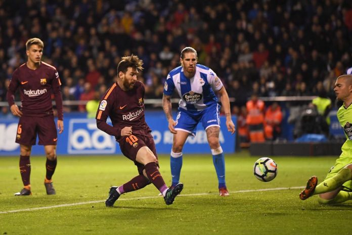 Liga : Fc Barcelone champion d'espagne, Messi atteint la barre des 1000 buts