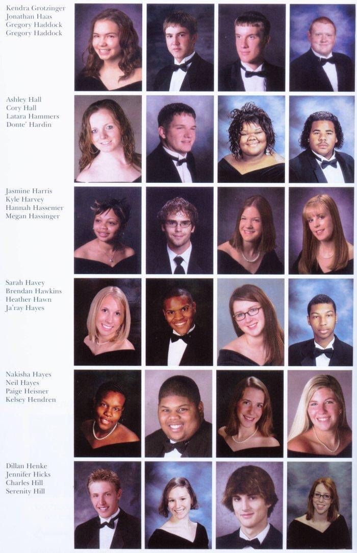 Class Of 2006 David H Hickman High School
